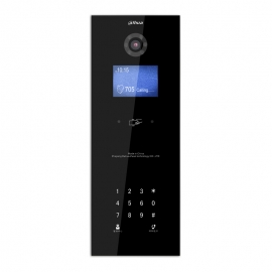 VTO1210B-X  Portero Unidad Exterior negro para dpto con lector de tarjetas 13.56 MHz