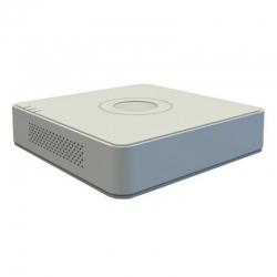 DS-7104NI-E1 NVR de 4 canales para grabación de cámaras IP.