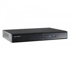 DS-7616NI-E2/8P NVR de 16 canales para grabación de cámaras IP.