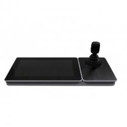 """DS-1600KI Controladora de DOMOS PTZ con pantalla touch de 10.1"""" desmontable."""