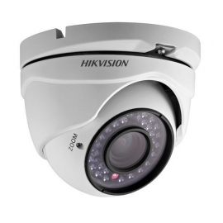 DS-2CE56C0T-IRMF Cámara hibrida 4 en 1 TURBO HD mini DOMO de 720p con lente fijo.