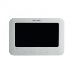"DS-KH6310-W(L) Pantalla Táctil color de 7"" para uso exclusivo con video porteros."