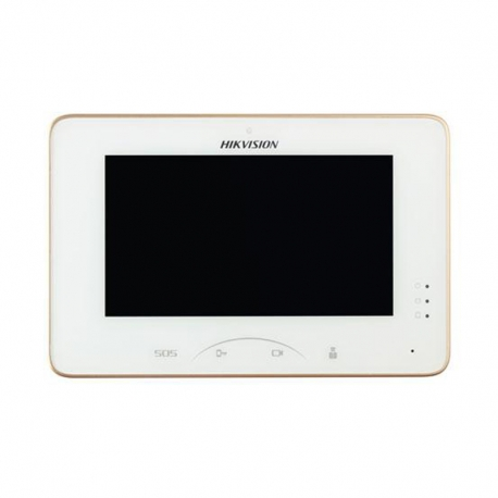 "DS-KM8301-WT Pantalla Táctil color de 7"" para uso exclusivo con video porteros."