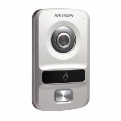 DS-KV8102-IP Video portero IP con cámara de 1MP de baja iluminación.
