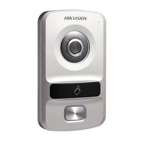 DS-KV8102-VP Video portero IP con cámara de 1MP de baja iluminación.