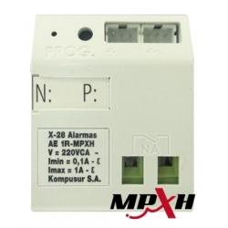 MÓDULO X28 AED1RMPXH Control Dispositivos