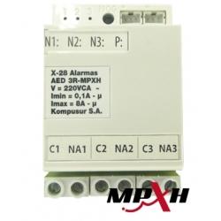 MÓDULO X28 AED3RMPXH Control Dispositivos