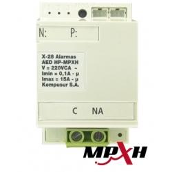 MÓDULO X28 AED1HMPXH Control Dispositivos