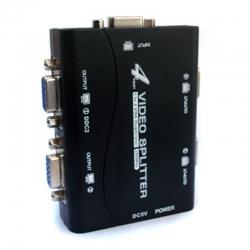 Splitter VGA 250 Mhz Gab. Plástico 1×4