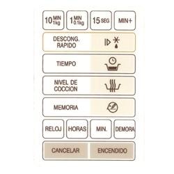 TECLADO MD52 BGH