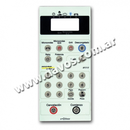 TECLADO MD59 WHIRPOOL 74103 - TOP HOUSE HE1003HU
