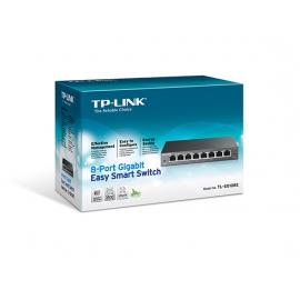 Switch TPLINK TLSG108E Easy Smart 8PuertosGigabit