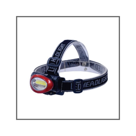 Linterna Vapex GML135 Vincha Led cob 3 Watt