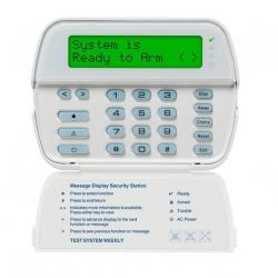 Teclado DSC PK5500 LCD de mensajes programables de 64 zonas