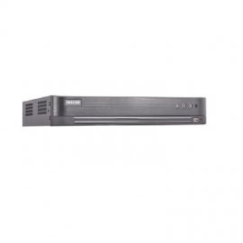 DVR HIKVISION DS7216HQHIK2 TURBO 4.0 16CH 2CH IP I/O4A PENTAHIBRIDO H265 3MP