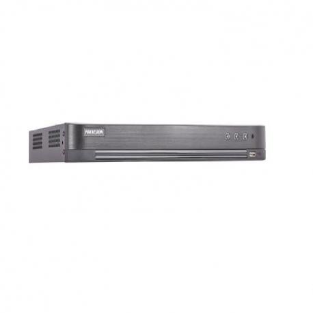 DVR HIKVISION DS7216HQHIK2 TURBO 4.0 16CH 2CH IP I/O4A PENTAHIBRIDO H265 3MP