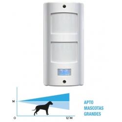Sensor Infrarrojo Pasivo Exterior x28 MX51W Mascotas grandes