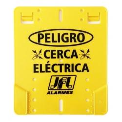 CARTEL CERCO ELECTRICO JFL