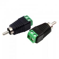 Conector plug RCA UTP