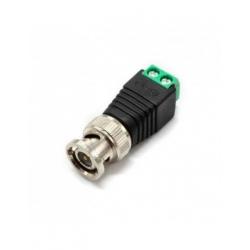 Conector plug video BNC