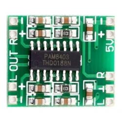 Modulo amplificador Estereo PAM 8403