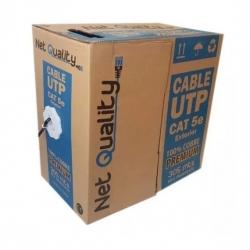 Cable UTP Net Quality CAT 5E 100% Cobre 305mts
