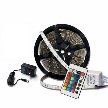 Tira de LED RGB 5050 12V DC (5 Metros)