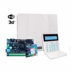Panel de alarma con WiFi, teclado LCD y Comunicador 3G