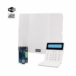Combo de alarma PC-732G con teclado LCDRF e IP-500-G