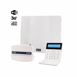 Combo de alarma PC-732G con teclado LCDRF y 3G-COM-G
