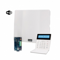 Combo de alarma PC-732G con teclado LCD e IP-500-G