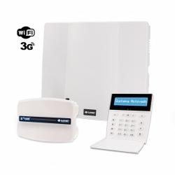 Combo de alarma PC-732G con teclado LCD y 3G-COM-G