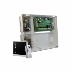 Kit Control de accesos con lectora, botón REX y fuente