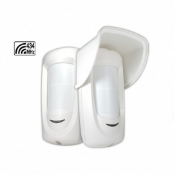 Detector inalámbrico doble infrarrojo para exteriores