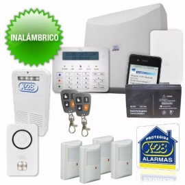 KIT Alarma X-28 8 zonas FULL Inalámbrica (N°1)