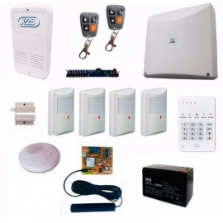 Kit Alarma X-28 4 Zonas Full Casa + Celular + SMS (N°3)